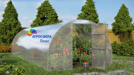 Фото разборной теплицы Плюс-Агросфера, российского производства, Смоленская область, г. Ярцево