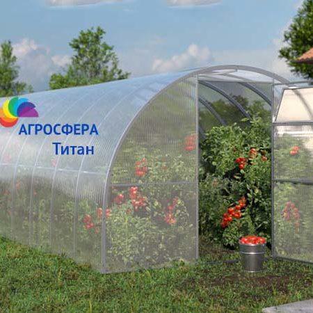 Фото теплицы Титан от российского производителя Агросфера, Смоленская область, г. Ярцево