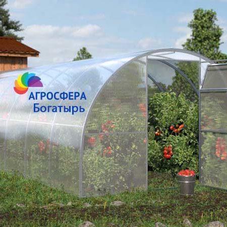 Фото теплицы Богатырь от российского производителя Агросфера, Смоленская область, г. Ярцево