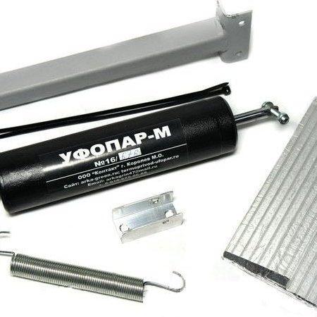 Уфопар М - термопривод для дверей теплицы