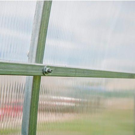 Качественную теплицу Сибирская Люкс из поликарбоната от производителя