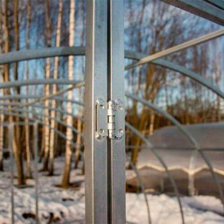 Металлокаркас теплицы Агровеликан шириной 4 метра шаг 1 метр