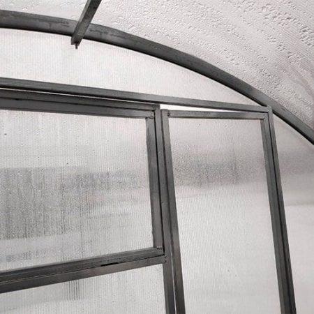 Поликарбонатная теплица МЗТ-3,5 40Ц-0,5 профиль 40x20 шаг между дугами 0,5 м